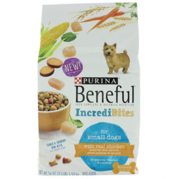 Beneful Dry IncrediBites for Small Dogs With Real Chicken Dog Food