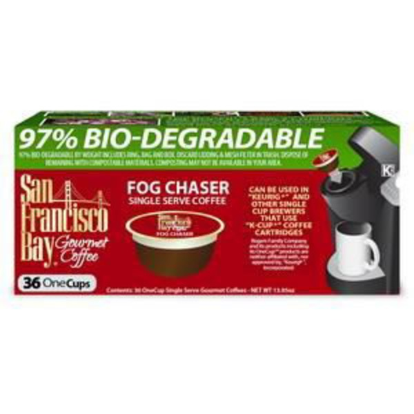 San Francisco Bay Coffee Fog Chaser Single Serve Coffee