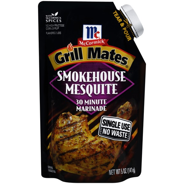McCormick Grill Mates Grill Mates 30 Minute Smokehouse Mesquite Marinade