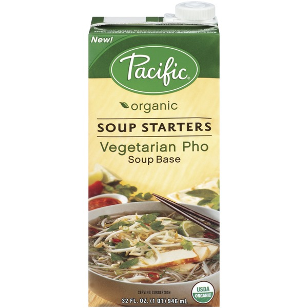 Pacific Vegetarian Pho Soup Starters