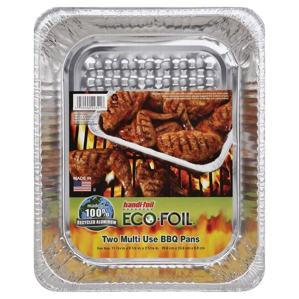Handi-Foil Pan, Foil, BBQ Multipurpose, Wrapper