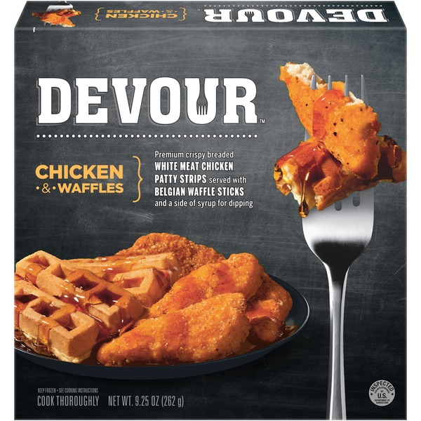 Devour Chicken & Waffles Frozen Entree