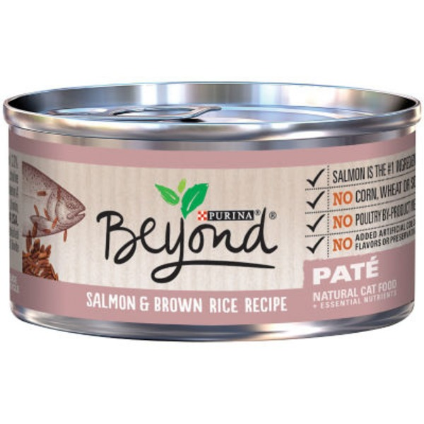 Purina Beyond Cat Wet Salmon & Brown Rice Recipe Cat Food