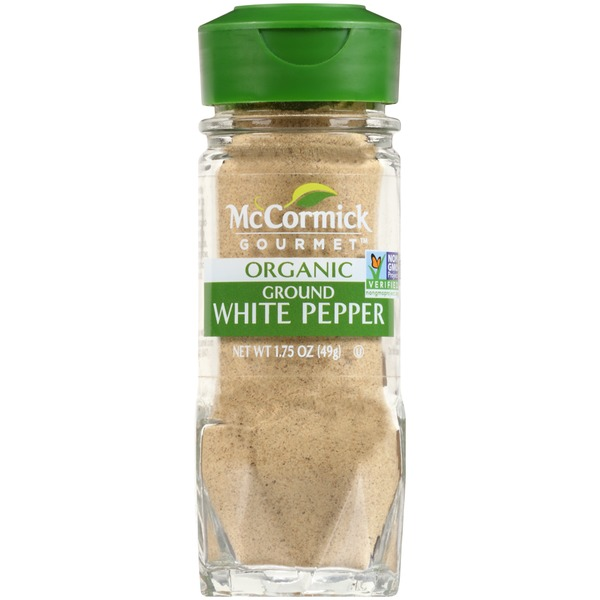 McCormick Gourmet Collection Organic Ground White Pepper