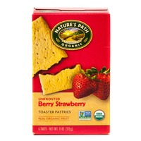 Nature's Path Unfrosted Strawberry Toaster Pastries
