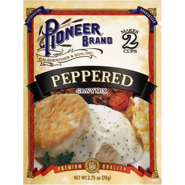 Pioneer Brand Peppered Gravy Mix