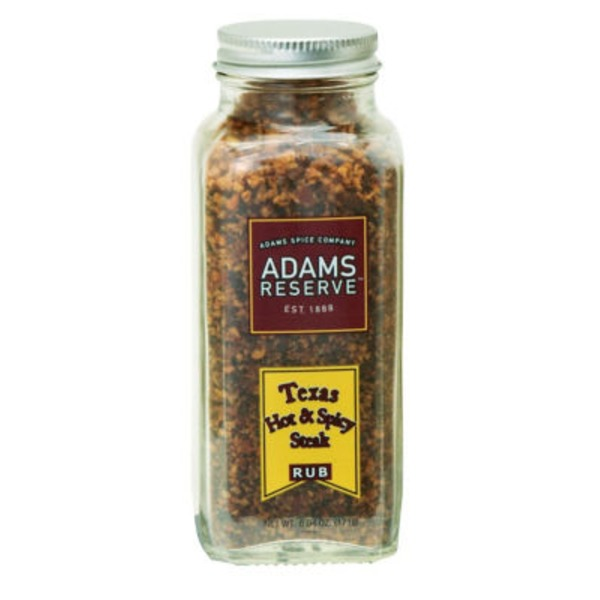 Adams Reserve Texas Hot And Spicy Steak Rub