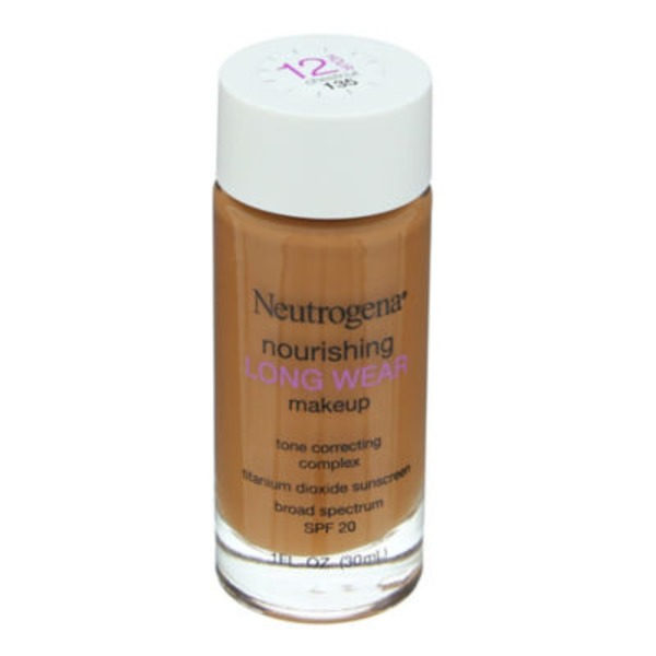 Neutrogena Makeup, Nourishing, Chestnut 135, Broad Spectrum SPF 20