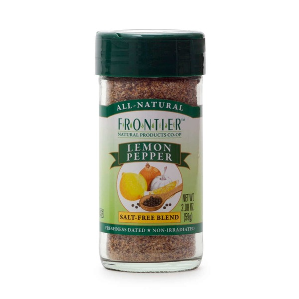Frontier Salt-Free Blend Lemon Pepper