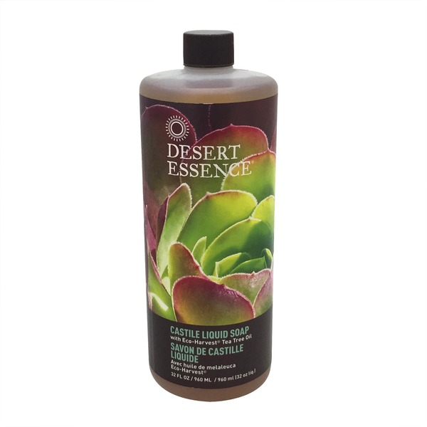 Desert Essence Liquid Soap, Castile