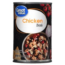 Great Value Canned Chicken Broth, 14.5 oz