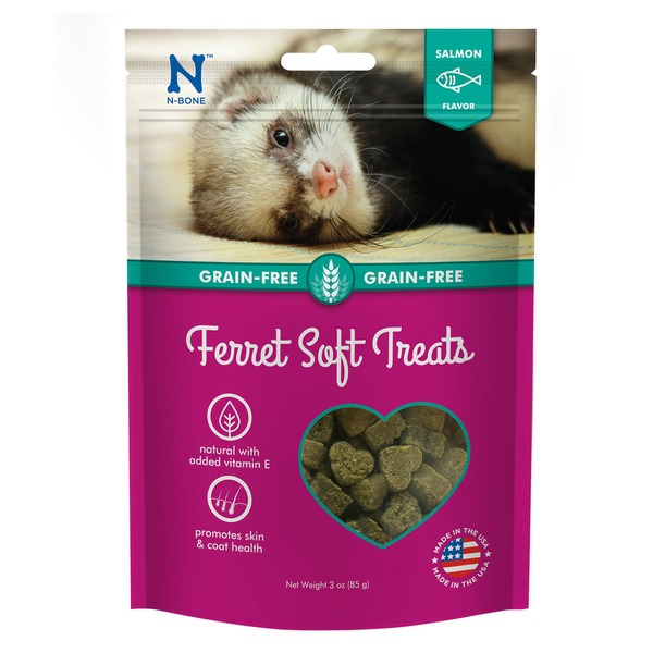 N Bone Grain-Free Salmon Soft Ferret Treats