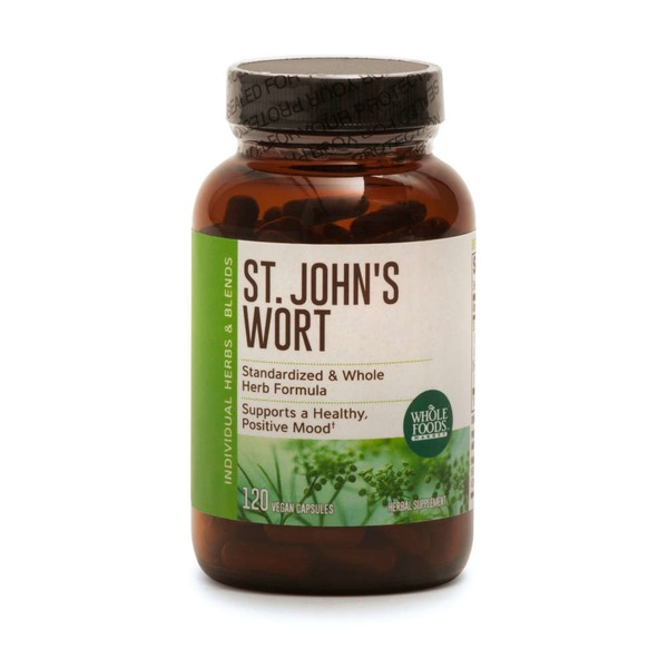 Whole Foods Market St John's Wort Vegan Capsules