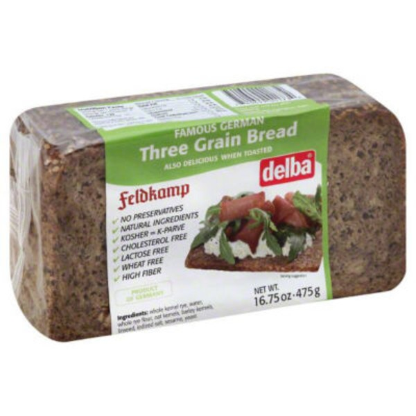 Delba Three Grain Bread