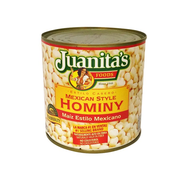 Juanita's Foods Mexican Style Hominy