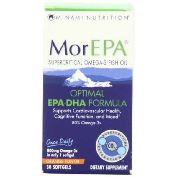 Minami Nutrition MorEPA Orange Flavor Softgels