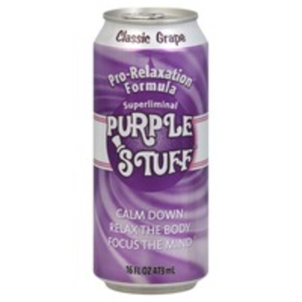 Purple Stuff Pro-Relaxation Formula Classic Grape Soda