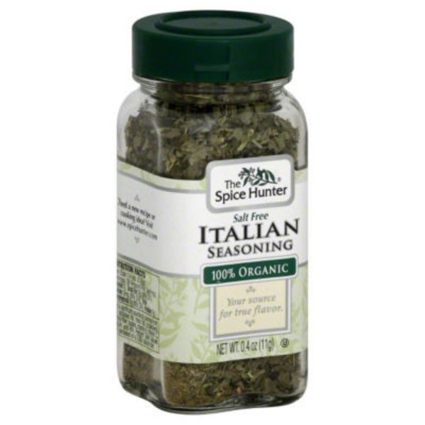 The Spice Hunter Italian Seasoning, 100% Organic