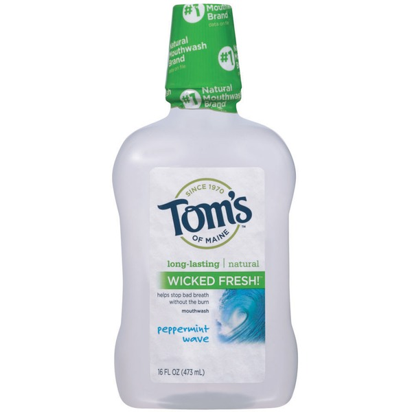 Tom's of Maine Wicked Fresh! Peppermint Wave Mouthwash