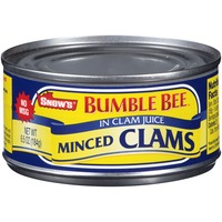 Snow's Minced In Clam Juice Clams
