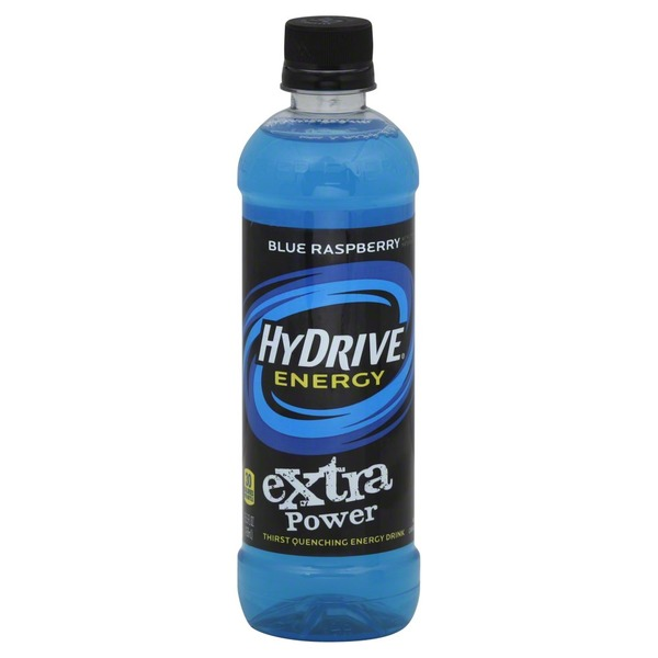 HyDrive Energy Water Extra Power Formula Blue Raspberry