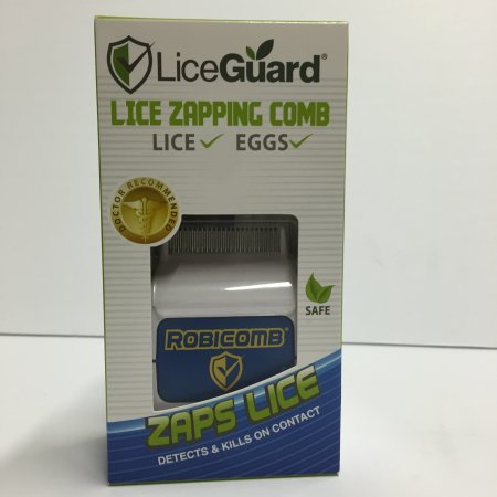 Outer Edge Lice Zapping Comb-robicomb