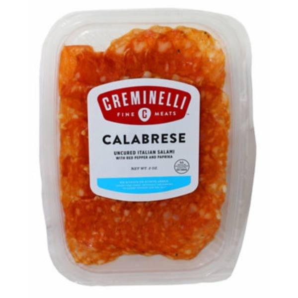 Creminelli Calabrese uncured italian Salami  with pepper and paprika