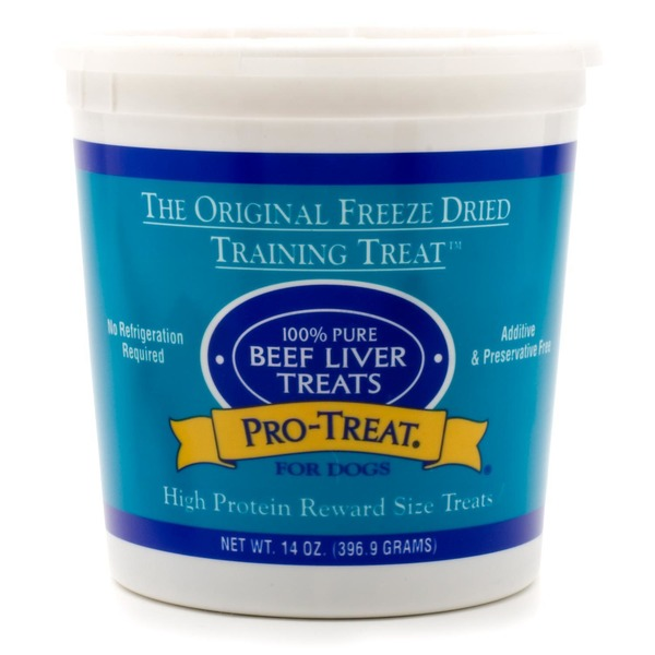 Gimborn Pro Treat Freeze Dried Beef Liver Treats