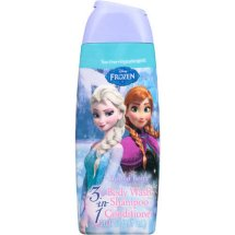 Disney Frozen 3-in-1 Body Wash Shampoo Conditioner Frosted Berry Scent, 20.0 FL OZ
