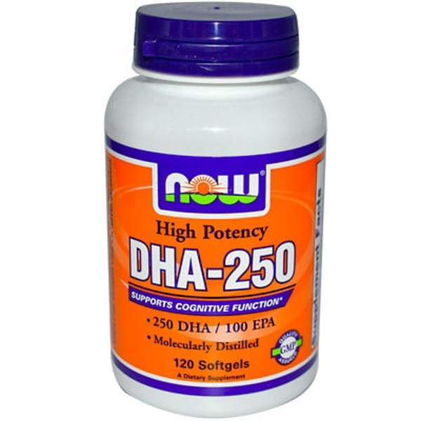 Now DHA-250 Softgels