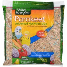 Wild Harvest Advanced Nutrition Diet for Parakeets, 4 lb