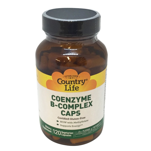 Country Life Coenzyme B-Complex Capsules, Bottle