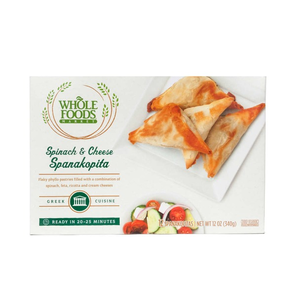Whole Foods Market Spinach & Cheese Spanakopita