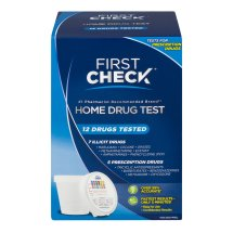 First Check Home Drug Test, 12 Drugs Tested, 1.0 CT