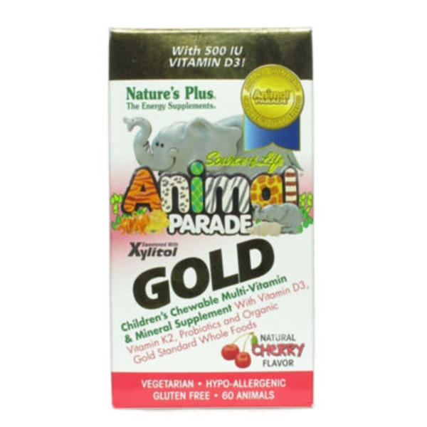 Nature's Plus Animal Parade Children's Multi Vitamin Chewables