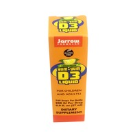 Jarrow Yum Yum Lemon Flavor Vitamin D3 Liquid