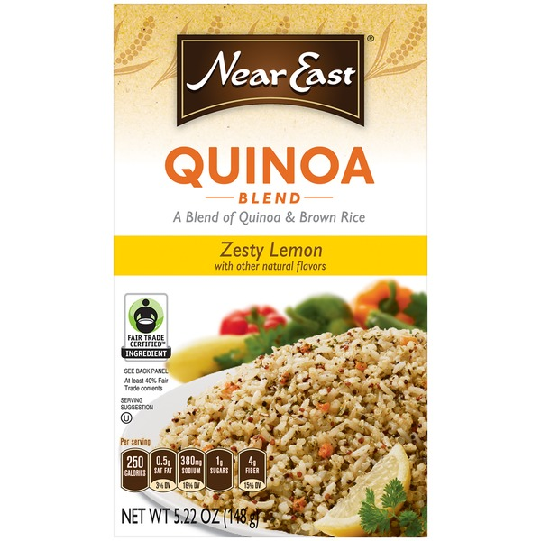 Near East Zesty Lemon Quinoa & Brown Rice Blend