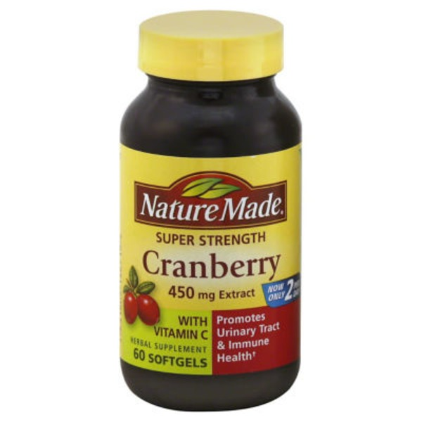 Nature Made Cranberry 450mg Extract Softgels - 60 CT
