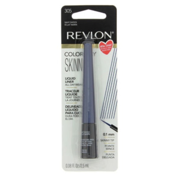 Revlon Liquid Liner, Navy Shock 305
