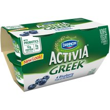 Activia Garden Blueberry Greek Nonfat Yogurt