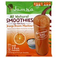 Jamba All Natural Smoothies Orange Dream Machine