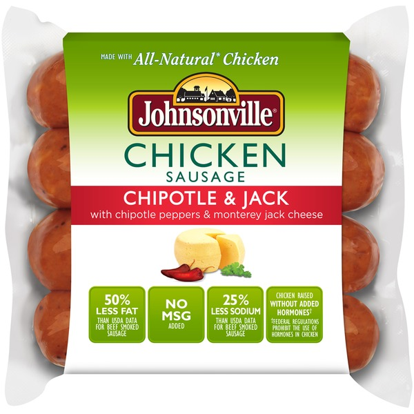 Johnsonville Chipotle & Jack (101055) Chicken Sausage