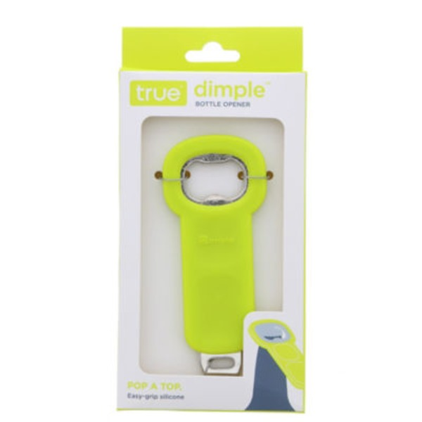 True Fabrications Pink Dimple Bottle Opener