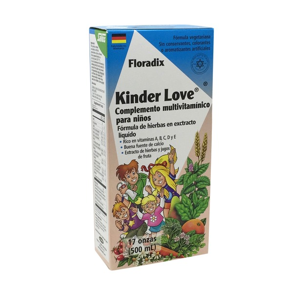Floradix Kinder Love Children's Multivitamin Liquid Extract Formula