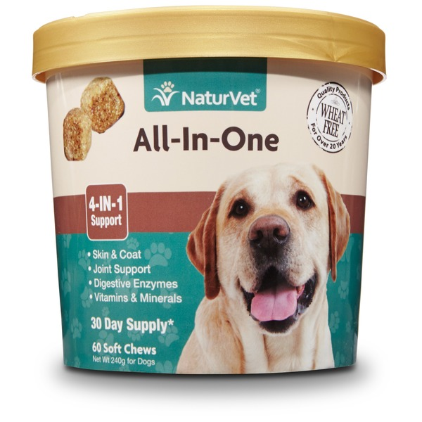 NaturVet All In One Dog Soft Chews