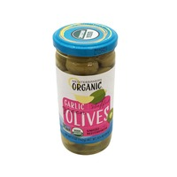 Mediterranean Organics Organic Garlic Stuffed Green Olives
