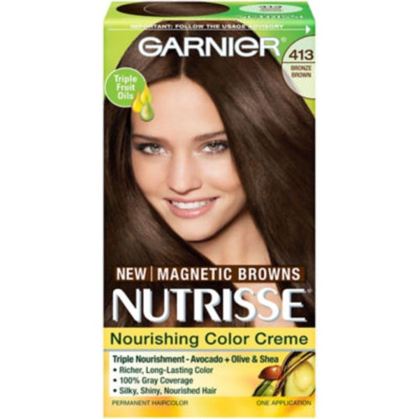 Nutrisse® 413 Bronze Brown Nourishing Color Creme
