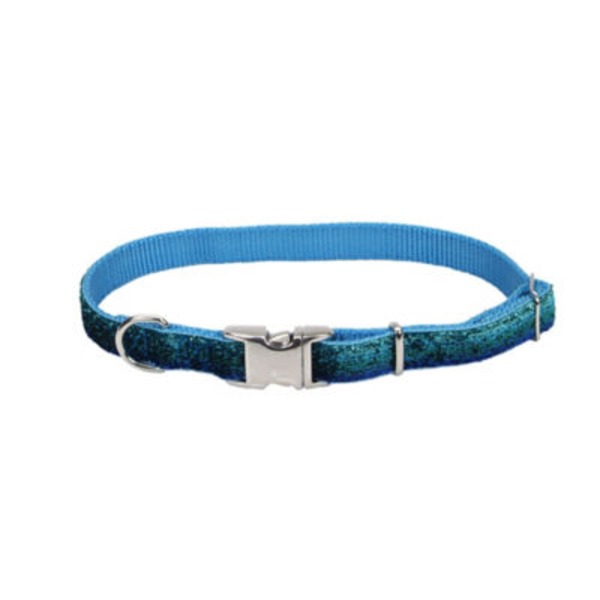 Coastal Pet Pet Attire Blue Sparkles 5/8 Inch X 12 18 Inch