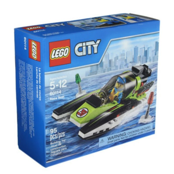 Lego City Great Vehicles Race Boat