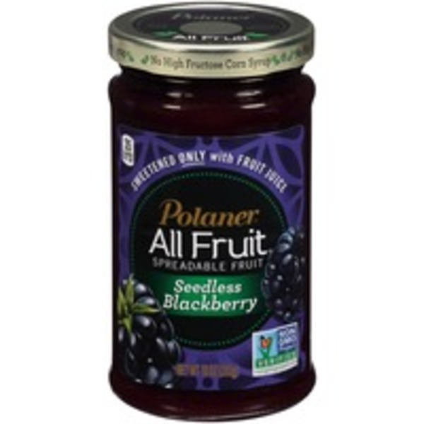 Polaner All Fruit Blackberry Seedless Fruit Spread